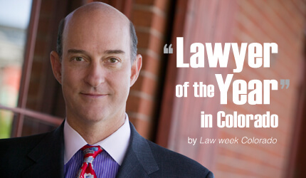 "Ted White Named to Law Week Colorado's ""Lawyers of the Year"""